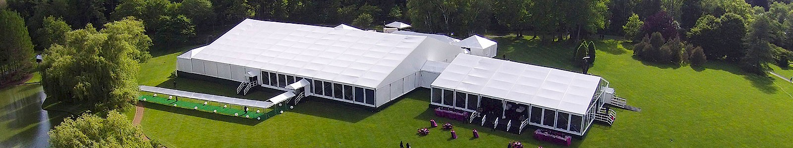 Clearspan Structure Tent Country Club