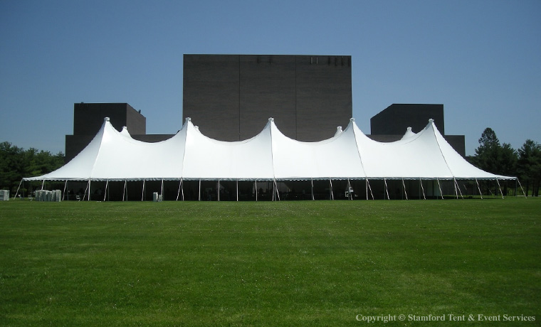 White Marquee Festival Tents