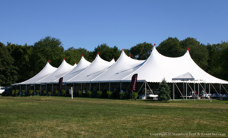 White Marquee Festival Tent