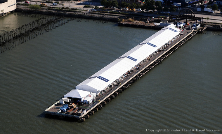 Tent Structure on the Harbor