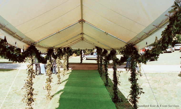 Canopy Tent Covered Walkway