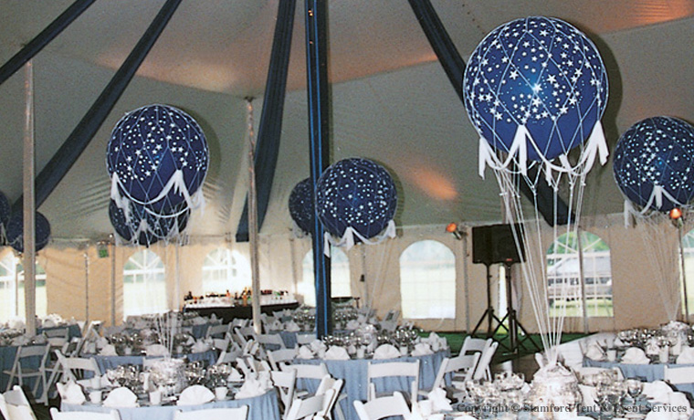 Tent Decor Balloon Accents
