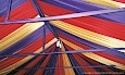 Colorful Fabric Tent Ceiling thumbnail