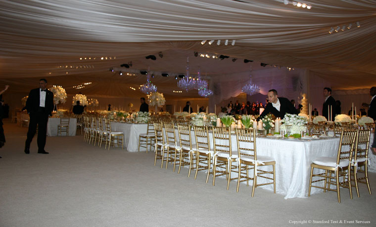 Luxurious Tent Carpeting Rental