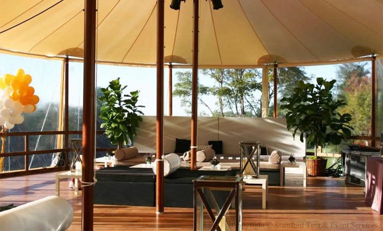 Cozy Distinctive Tent Hardwood Flooring Rental