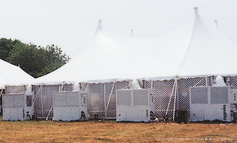 Climate Controlled Tent Rental