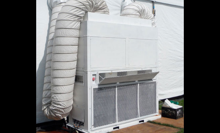 Tent Climate Control Equipment Rental