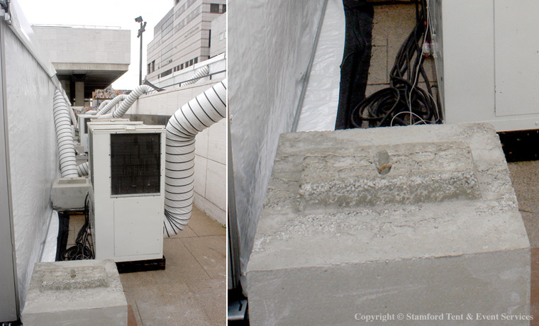 Stamford Tent HVAC Equipment Services