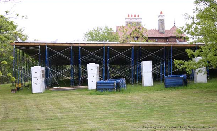 Floor Covering Structure Stamford Tent Rentals