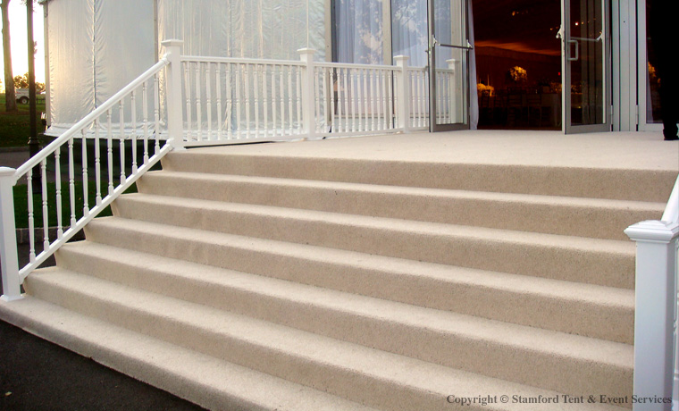 Stamford Tent Rental Event Services Stairway