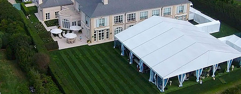 marquee outdoor party pavilion