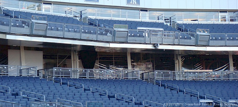 Custom Tents Project in Yankee Stadium