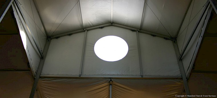 Custom Tents with Circle Window