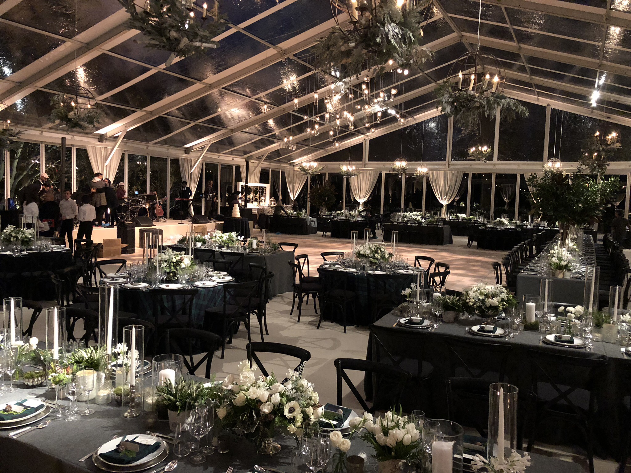 elegant wedding tent rentals