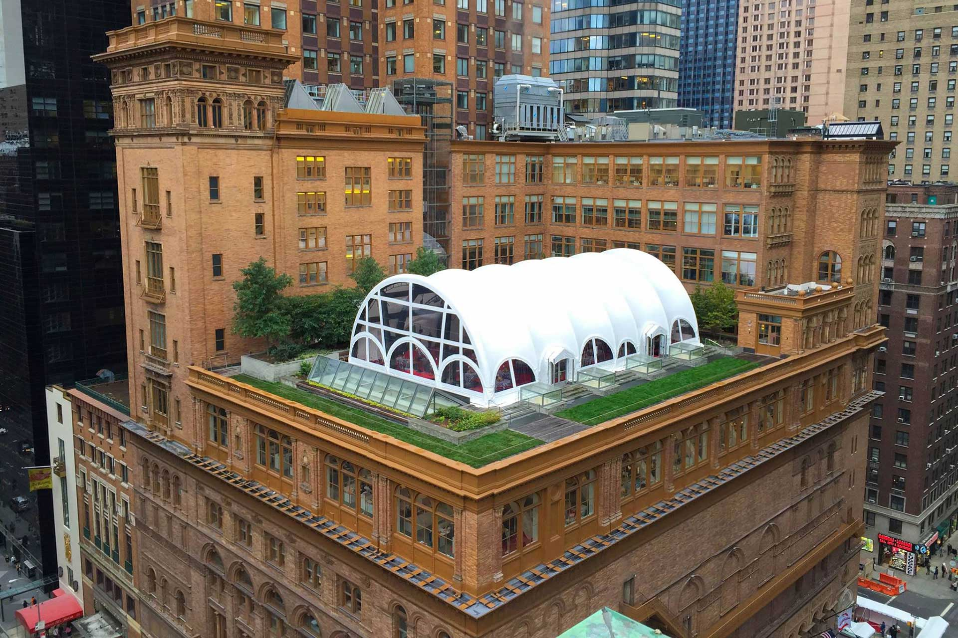 nyc roof top tent